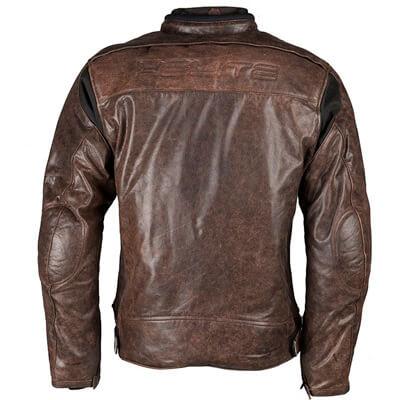 Espalda de chaqueta de cuero Helite Roadster Black